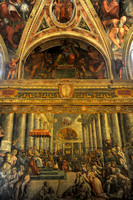The Vatican Ceiling - Rome