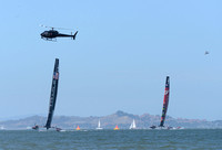 Oracle Team USA, James Spithill, Emirates Team New Zealand, Dean Barker